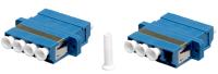 Adapter BKT LC quad SM niebieski SC duplex footprint