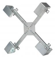 Stelaż szafki naściennej zapasu kabla BKT ( trzystopniowa regulacja wysokości ramienia )