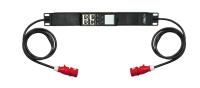 Uniwersalny moduł monitoringu zasilania trójfazowego BKT BPS2500, gniazdo 1xIEC60309 16A/400V (na kablu), wtyk 1xIEC60309 16A/400V (na kablu), kabel 2.0m