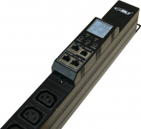 Listwa monitorująca BKT BPS2000 18xIEC320 C13 + 6xIEC320 C19, wtyk IEC 60309 16A/250V, 1xPort Temperatury/Wilgotności, dł.listwy L=1383mm, kabel 3.0m
