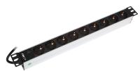 "Listwa zasilająca BKT 19"", 9xDIN 49440(schuko), wtyk DIN 49441(unischuko) 16A/250V, kontrolka LED"