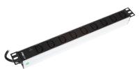 "Listwa zasilająca BKT 19"", 9xIEC320 C13, wtyk IEC320 C14 10A/250V, kontrolka LED"