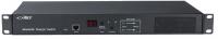 """ATS Basic BKT 1U 19"""" 12xIEC320 C13 (wbudowane), wtyk 2xIEC320 C14 10A/250V (gniazda wbudowane) (brak kabli w komplecie)"""