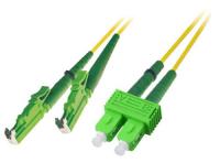 Patchcord BKT E2000-APC/SC-APC (9/125um) duplex 1m