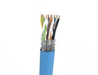 Kabel S/FTP LSHF-FR kat. 7A BKT NL 1500 6P MULTIMEDIA drut niebieski 22AWG (500m)