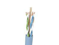 Kabel U/UTP LSHF-FR kat. 6A BKT 505 Z1 drut niebieski 23AWG (500m)