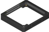Cokół 100 mm BKT do szafy o szer. 600 i głęb. 600 mm RAL7035 ( do szaf składanych Quick Rack )