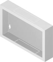 Tył stalowy do szafy Standard 6U