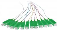 Pigtail BKT SC/APC G652D OS2 easy strip 12 colors set 2m