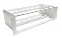 Przełącznica 3U do modułów LGX aluminiowych, aluminiowa, niewyposażona FTTH