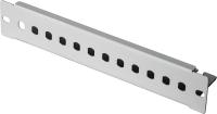 """Patch-Panel BKT 12 x ST, 10"""" - nie wyposażony RAL 7035 szary"""