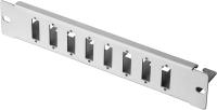 """Patch-Panel BKT 8 x SC Duplex, 10"""" - nie wyposażony RAL 7035 szary"""