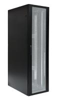 Szafa serwerowa BKT 4DC 42U, 600/1000/1980, szer./gł./wys. mm., drzwi przednie i tylne perforowane, RAL 9005 czarny, ( konstrukcja spawana - nośność 1500 kg )