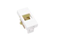 Adapter płaski BKT.NL 1xMMC 4P lub 1xRJ45 ( 22,5/45 )