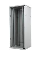 """Szafa SRS ECO, BKT 42U, 600/600/1980, szer./gł./wys. mm. drzwi pełne szkło, RAL 7035 """"ECO"""" ( konstrukcja spawana - nośność 600 kg )"""