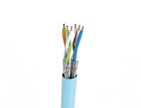 Kabel U/FTP LSHF kat. 6A BKT 585 drut niebieski 23AWG (500m)