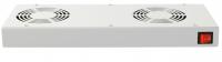 Panel wentylacyjny BKT 2 wentylatorowy dachowo-rakowy + termostat 1HE szary 900 5530 23