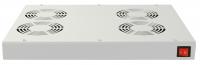 Panel wentylacyjny BKT 4 wentylatorowy dachowo-rakowy + termostat 1HE szary 900 5530 43