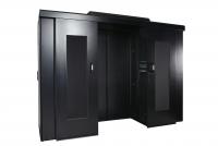 Mechaniczne drzwi do zabudowy BKT 4DC 42U szer.1200 mm RAL 9005