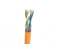 Kabel S/FTP LSHF kat. 7 BKT 1000 drut pomarańczowy 23AWG (1000m)