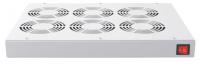 Panel wentylacyjny BKT 6 wentylatorowy dachowo-rakowy + termostat 1HE szary 900 5530 63