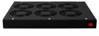 Panel wentylacyjny BKT 6 wentylatorowy dachowo-rakowy + termostat 1HE czarny 900 5530 63