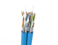 Kabel U/FTP LSHF kat. 6 BKT 455 DUPLEX drut niebieski 23AWG (500m)