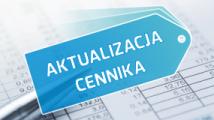 Aktualizacja cennika BKT