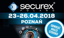 Zapraszamy na targi Securex w Poznaniu